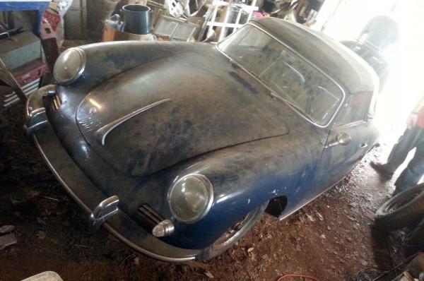 Dusty Porsche 356S Cabriolet