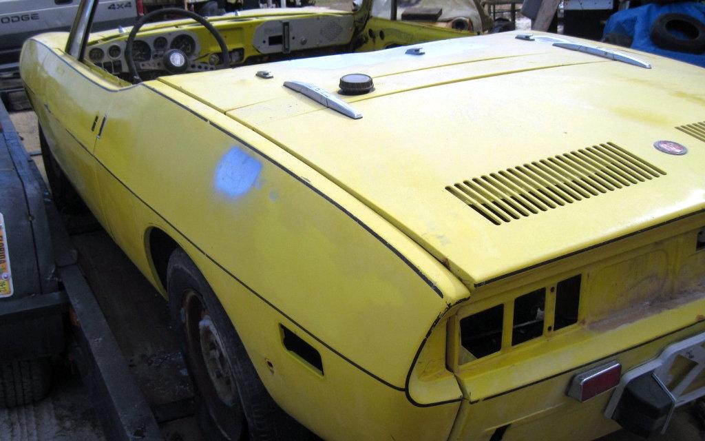 Fiat 850 Spider Parts Car