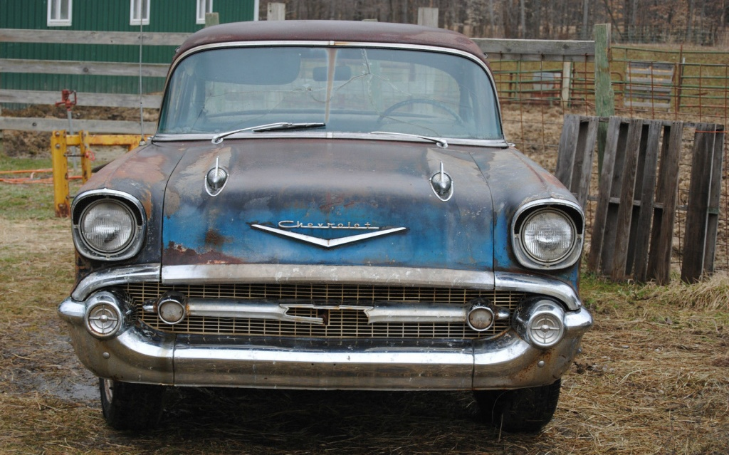 1957 Chevrolet Bel Air Generation Gap
