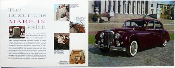 Jaguar Mk IX Brochure