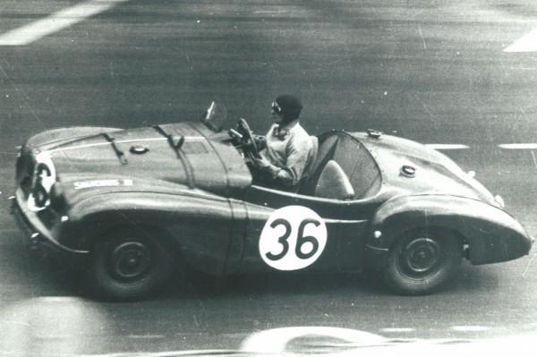 Jowett Jupiter at Le Mans