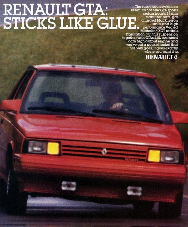 Renault GTA Sticks Like Glue