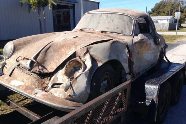 Porsche 356 For Sale >> 1963 Porsche 356: Rusty And Wrecked
