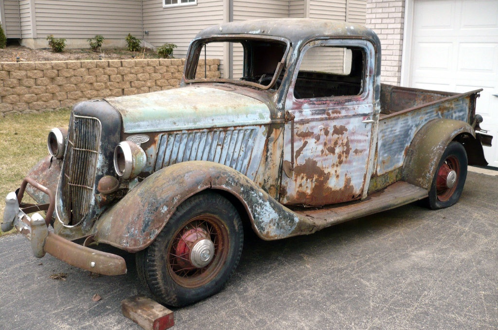 1935 Ford Pickup: Beyond Patina