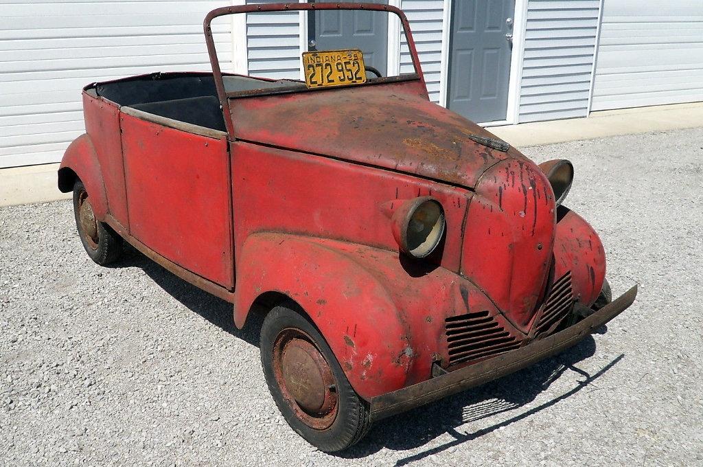 Niche Road Wheels >> 1939 Crosley Convertible: Tiny Drop Top