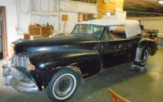 1947 Lincoln Cabriolet