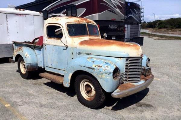 1948 International Pickup Rust Or No Rust