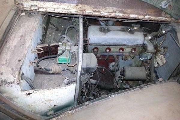 1949 Alvis TA-14 Engine