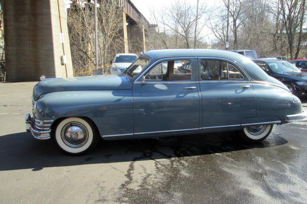Car Auctions Online >> Gray Clipper: 1949 Packard Series 22
