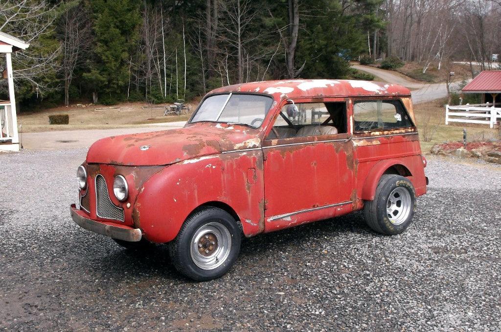 Micro Dragster 1950 Crosley Wagon