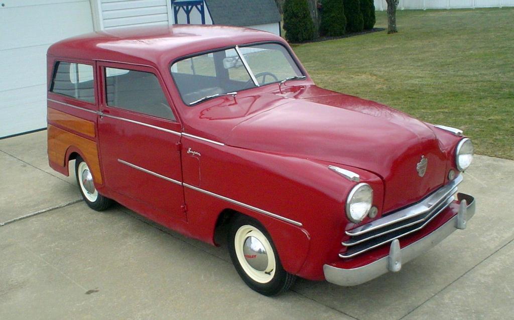 baby woody 1950 crosley station wagon rh barnfinds com