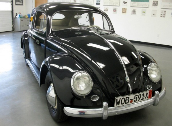1955 Vw Beetle Showroom Survivor