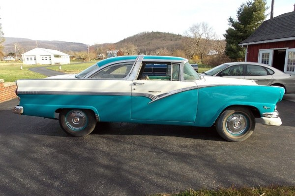 two tone dichotomy 1956 ford crown victoria. Cars Review. Best American Auto & Cars Review