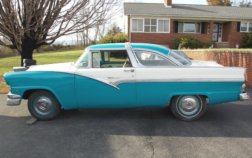 one cool roof 1956 ford crown victoria. Cars Review. Best American Auto & Cars Review