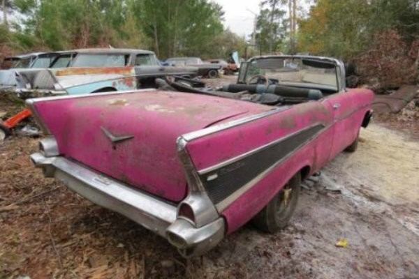 1957 Chevrolet Bel Air Convertible Project