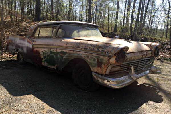 Convertible Hardtop: 1957 Ford Skyliner
