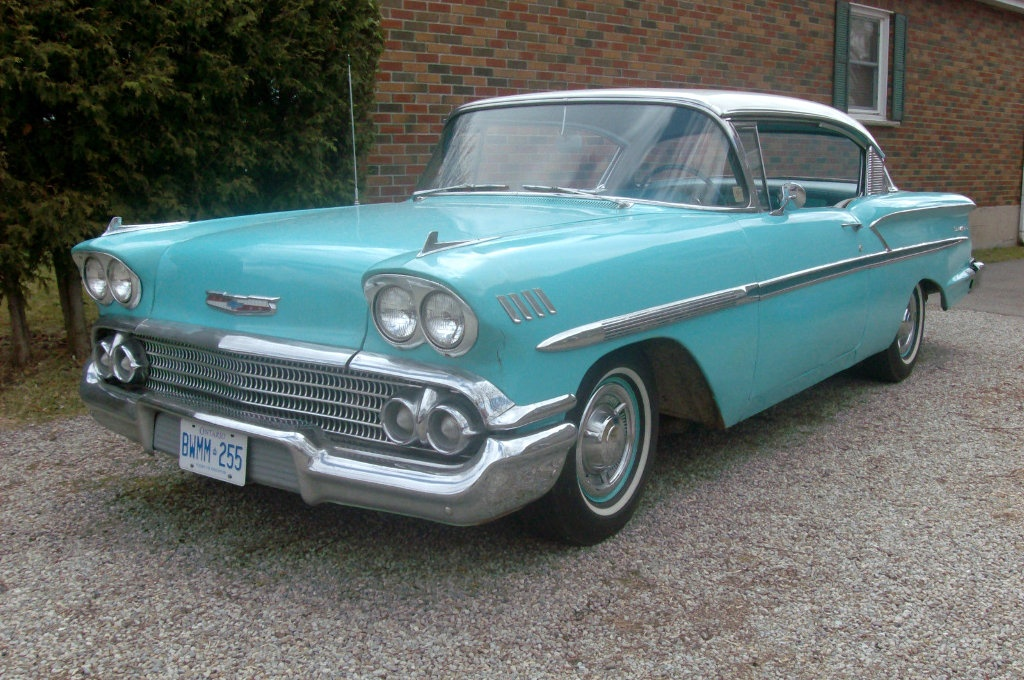 1958 chevy bel air canadian edition. Black Bedroom Furniture Sets. Home Design Ideas