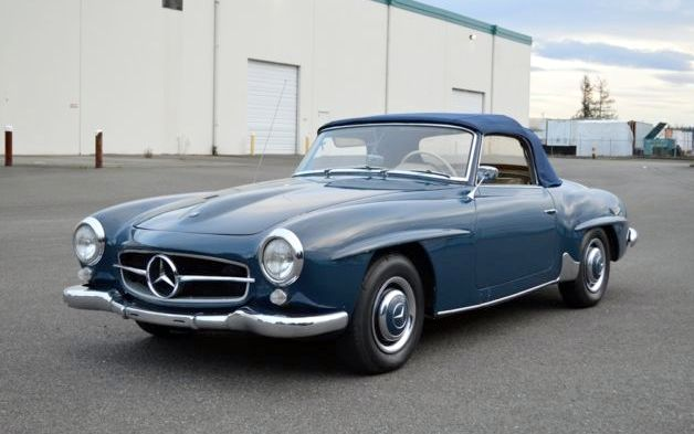 1958 mercedes benz 190sl keeps going up for Mercedes benz usa price list