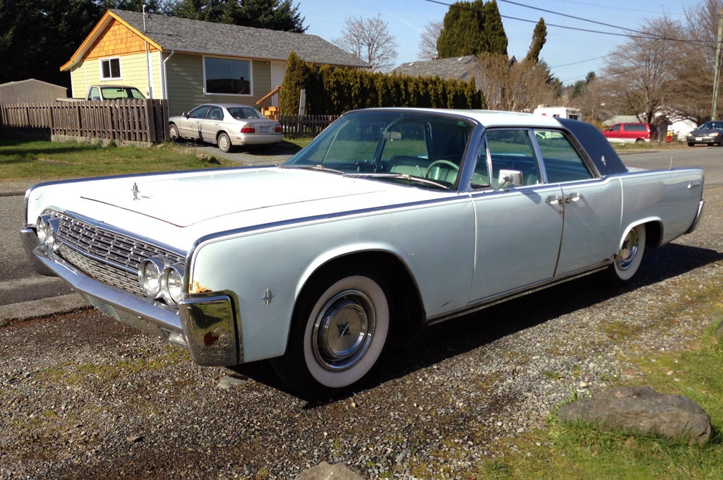Power Everything 1962 Lincoln Continental