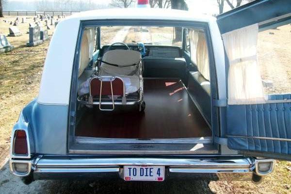 1964 Buick Hearse Interior