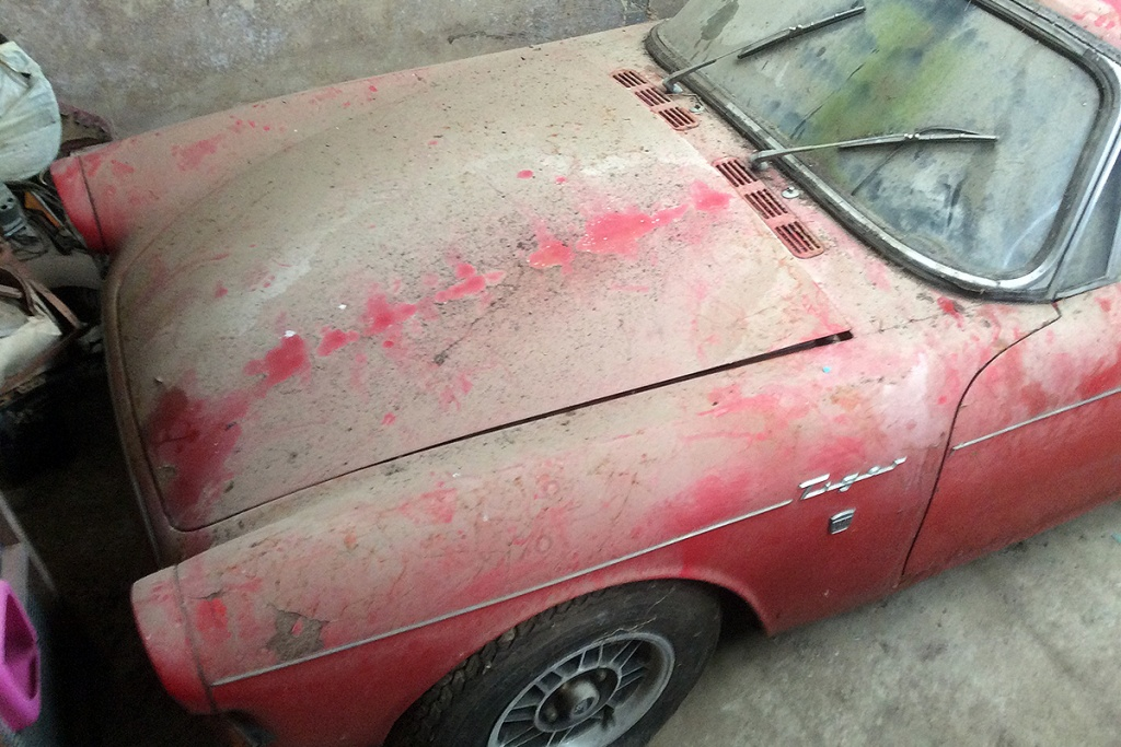 Barn Finds Auction Frenzy