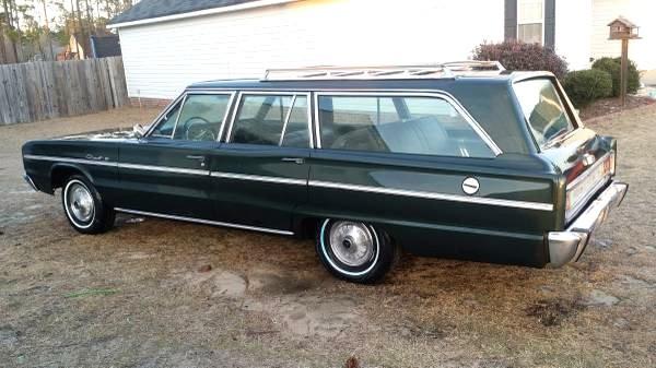Dodge Power Wagon For Sale >> 1966 Dodge Coronet Wagon: Bad in Black