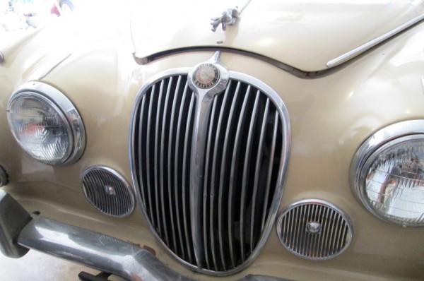 1967 Jaguar 240 Grille