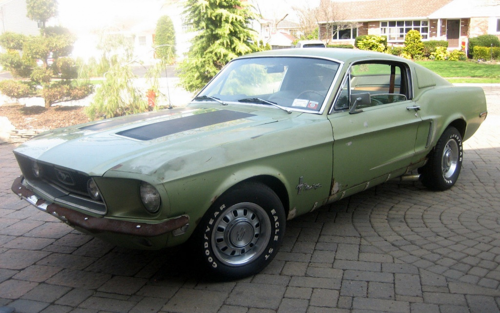 Eleanor Mustang For Sale >> Crusty Fastback: 1968 Ford Mustang GTA