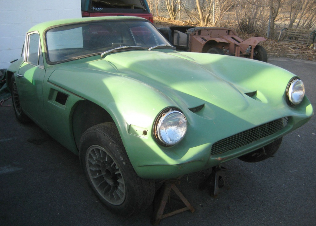 Ford Power: 1969 TVR Vixen