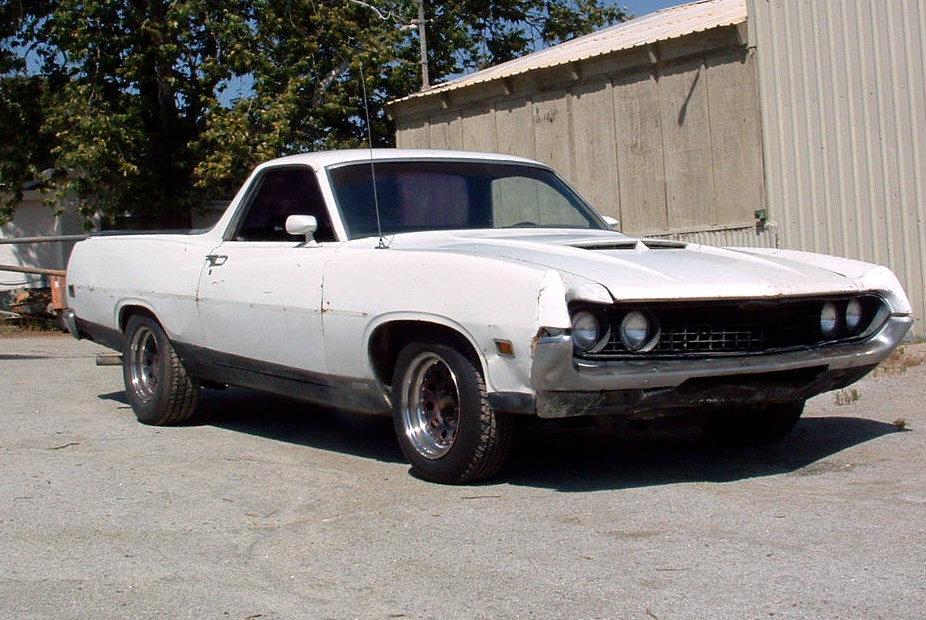 1970 ford ranchero gt  drag pack utility