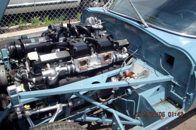 1972 Jaguar V12 E Type Engine