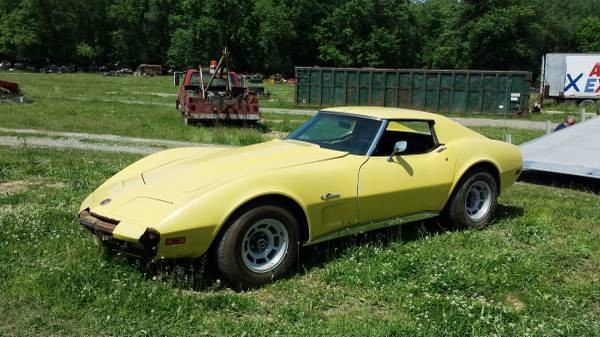350 And A 4-Speed: 1974 Corvette