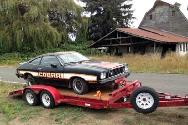 1978 Ford Mustang Cobra Ii Unfinished Business