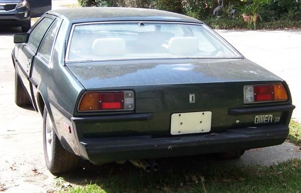 1985 Bitter SC Rear