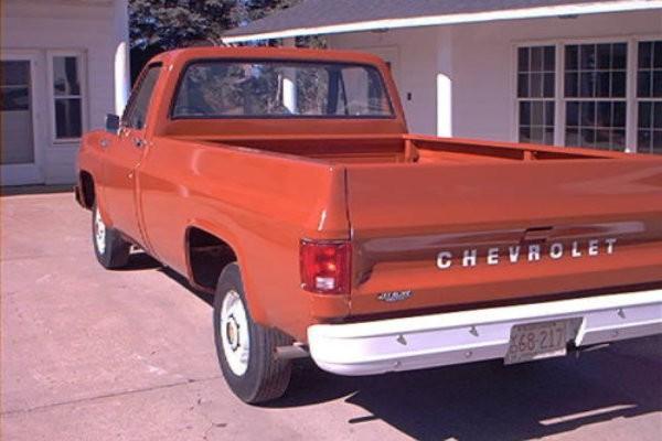 705 mile Chevrolet