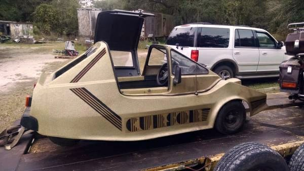 Mystery Moped: 1985 Cursor Microcar