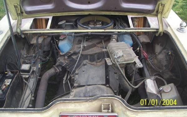 Engine rear