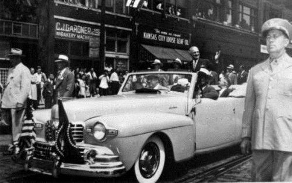 President Truman at parade