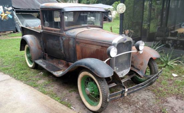 1931 ford model a truck where to start. Black Bedroom Furniture Sets. Home Design Ideas