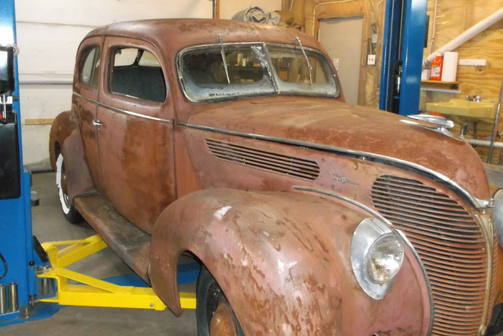 Stored for 35 years 1938 ford super deluxe for 1938 ford deluxe 2 door sedan