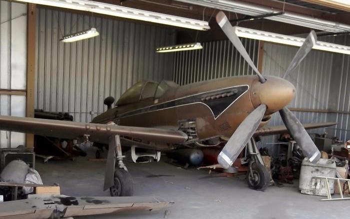 Hangar Find 1944 P 51 Mustang Amp More