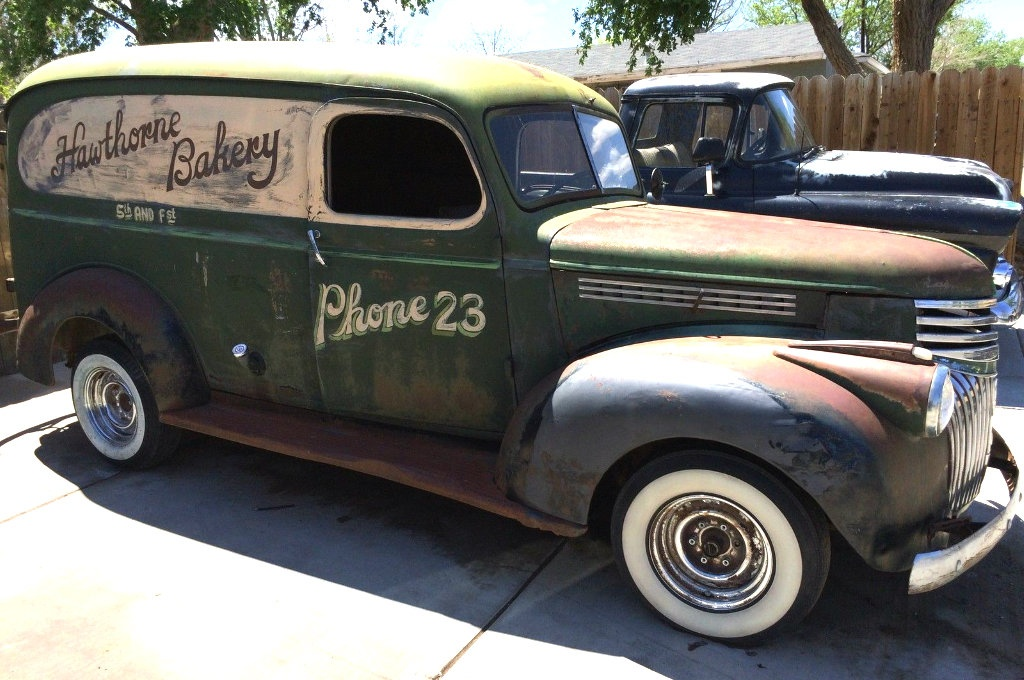 Chevy Work Vans For Sale Baker's Wagon: 1946 Chevy Panel Truck