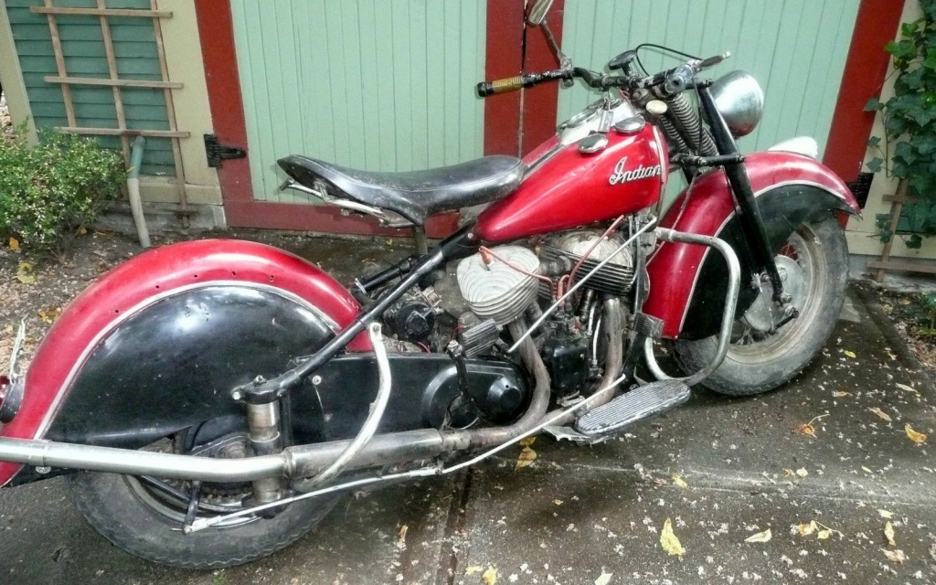 Feathers Included 1947 Indian Chief
