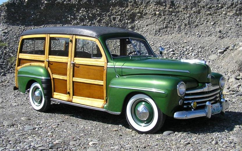 1948 Ford Super Deluxe Woodie Station Wagon For Sale Html