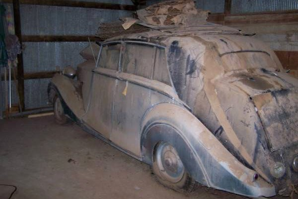 Craigslist Old Cars For Sale >> 1948 Rolls-Royce: Parts Or Project?