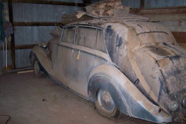 1948 Rolls Royce Parts Or Project