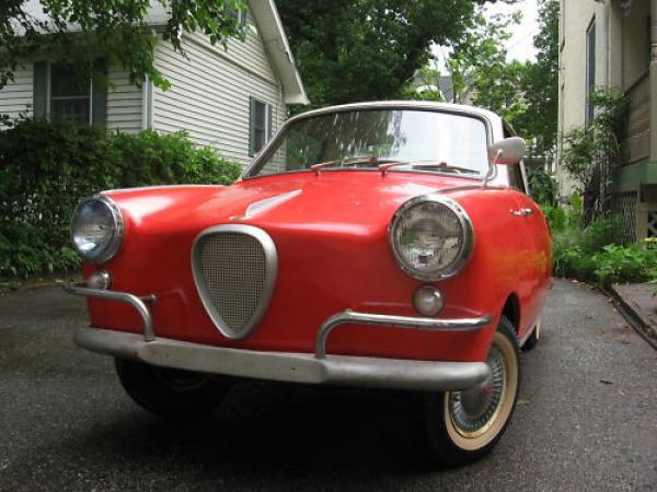 Quirky Survivor: 1958 Goggomobil TS400