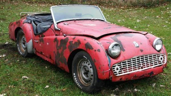 1959 Triumph TR3 for $1,800
