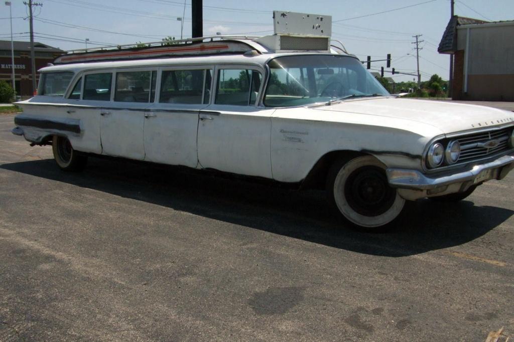 1960 chevrolet impala stageway 12 seater. Black Bedroom Furniture Sets. Home Design Ideas