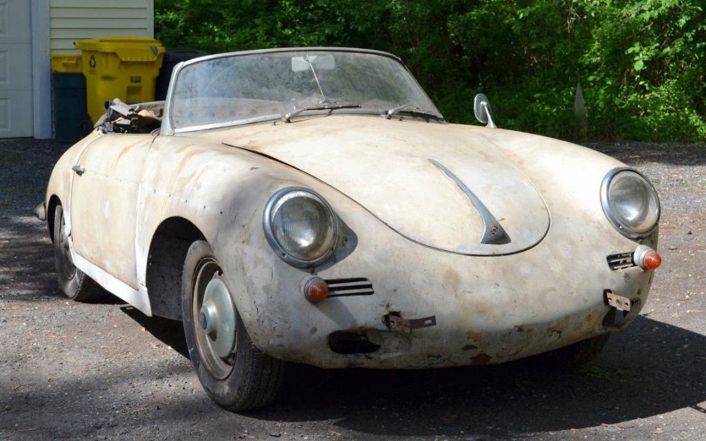 Parked Since 80 1960 Porsche 356b Roadster